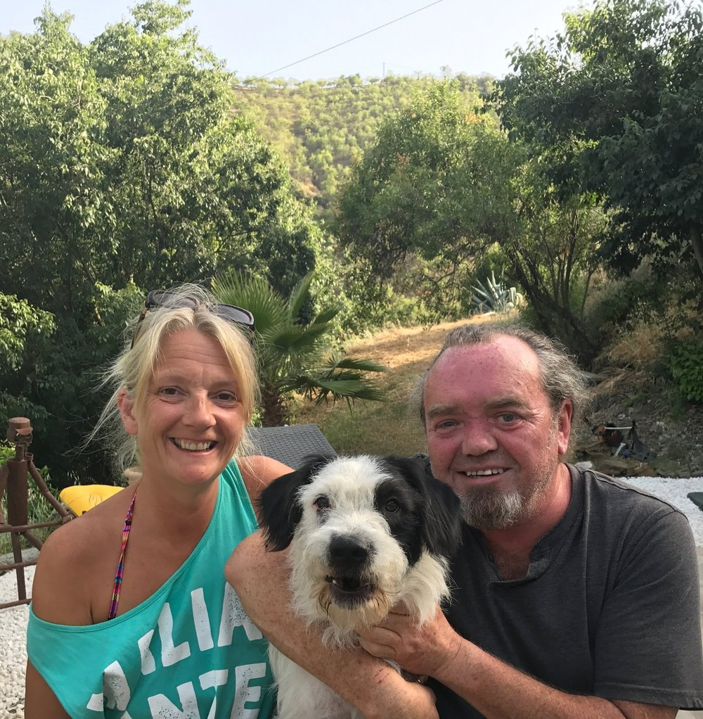 Your hosts  - From Sunny Bournemouth to the mountains of Andalusia,  together we have built what we like to call our little piece of paradise. We are Mary and Dave, your hosts who are on hand for any questions and of course to make your stay as pleasurable at possible!