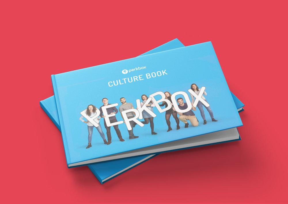 Perkbox Culture Book 2018 - Cover