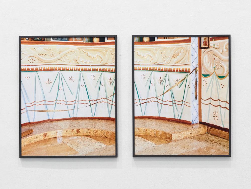 Fresko 1 & 2, 2016 C-Prints, je 90 x 72 cm