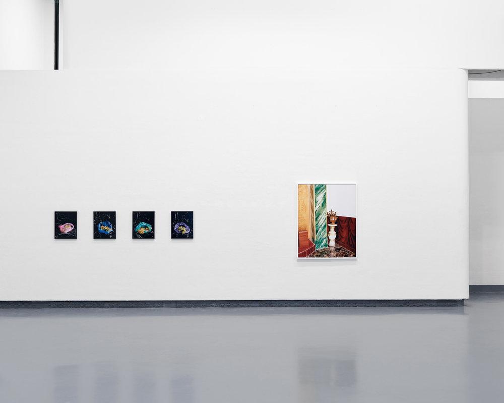 Ausstellungsansicht HGB Galerie, 2016