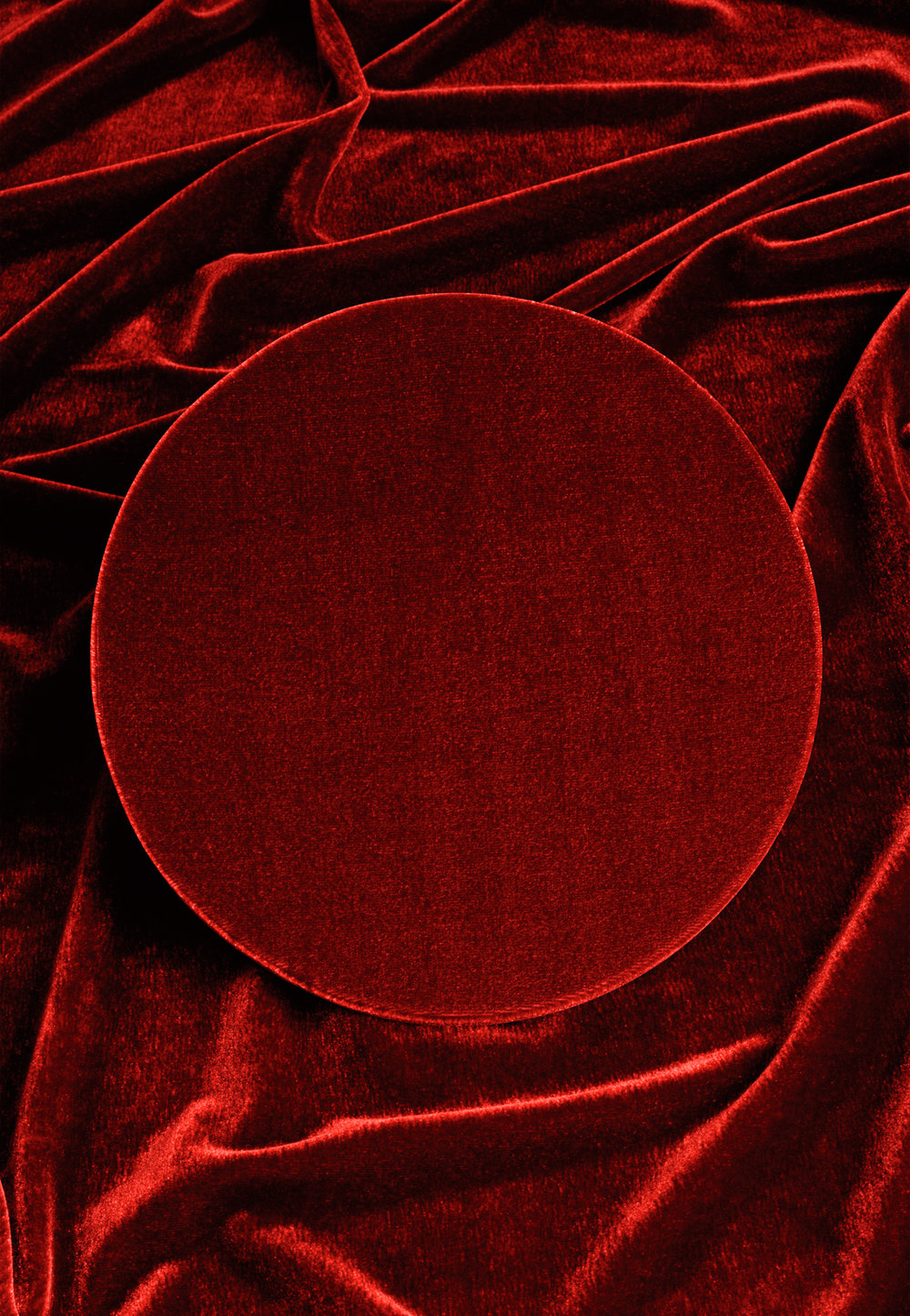 Roter Kreis 1, 2016 C-Print, 52,5 x 36 cm