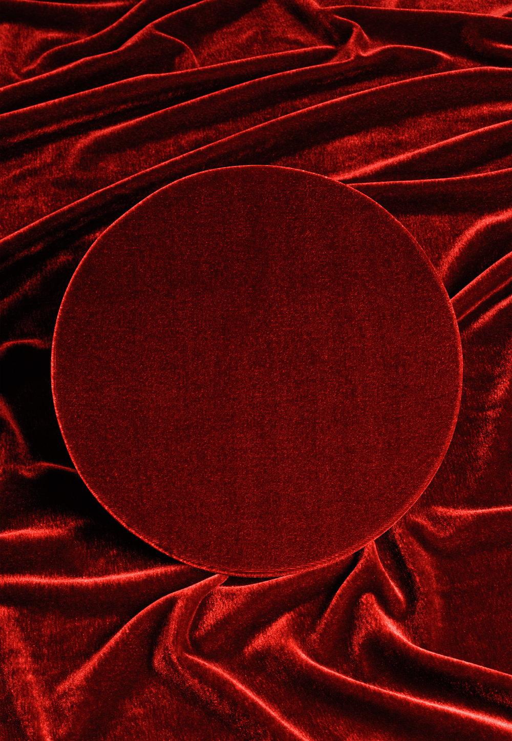 Roter Kreis 2, 2016 C-Print, 52,5 x 36 cm