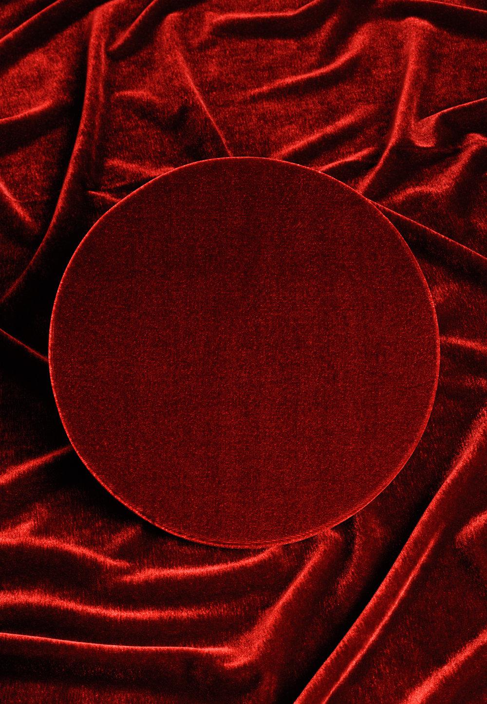 Roter Kreis 4, 2016 C-Print, 52,5 x 36 cm