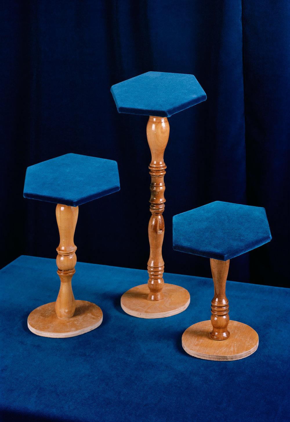 3 stools, 2016 C-Print, 146 x 100 cm