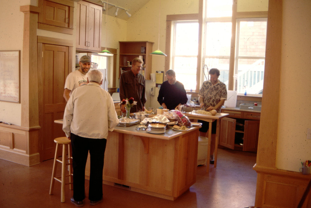 Bell guys in kitchen.JPG