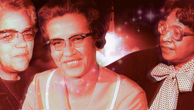 Dorothy Vaughan, Katherine Johnson and Mary Jackson the real hidden figures