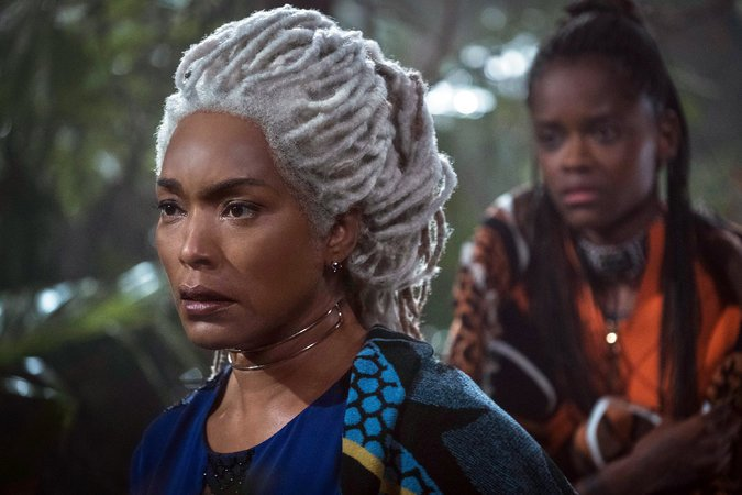 Ramonda (Angela Bassett). Marvel Studios   Queen Mother of Wakanda - The Guiding Force