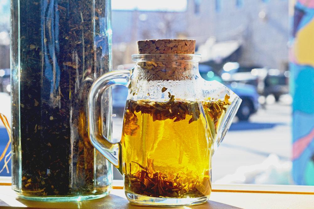 Green Tea Organic Loose Leaf Tea Understory Coffee Sandpoint Idaho