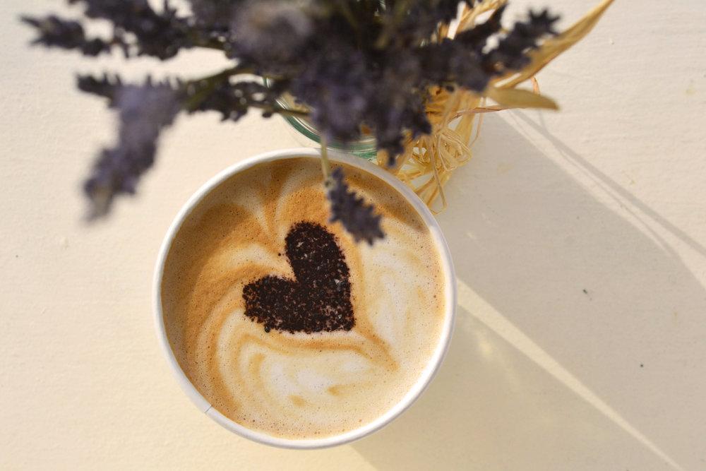 Heart Latte Art Understory Local Organic Sandpoint Idaho