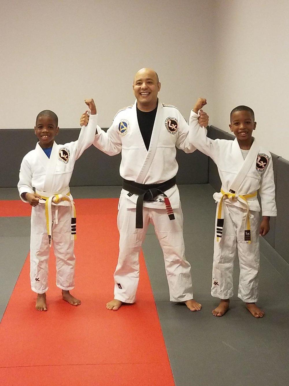 David & Joshua belt promotion - Brazilian Jiu-Jitsu