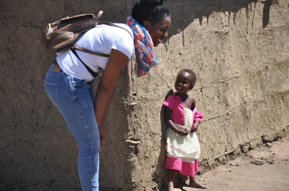 A Maasi village in Kenya