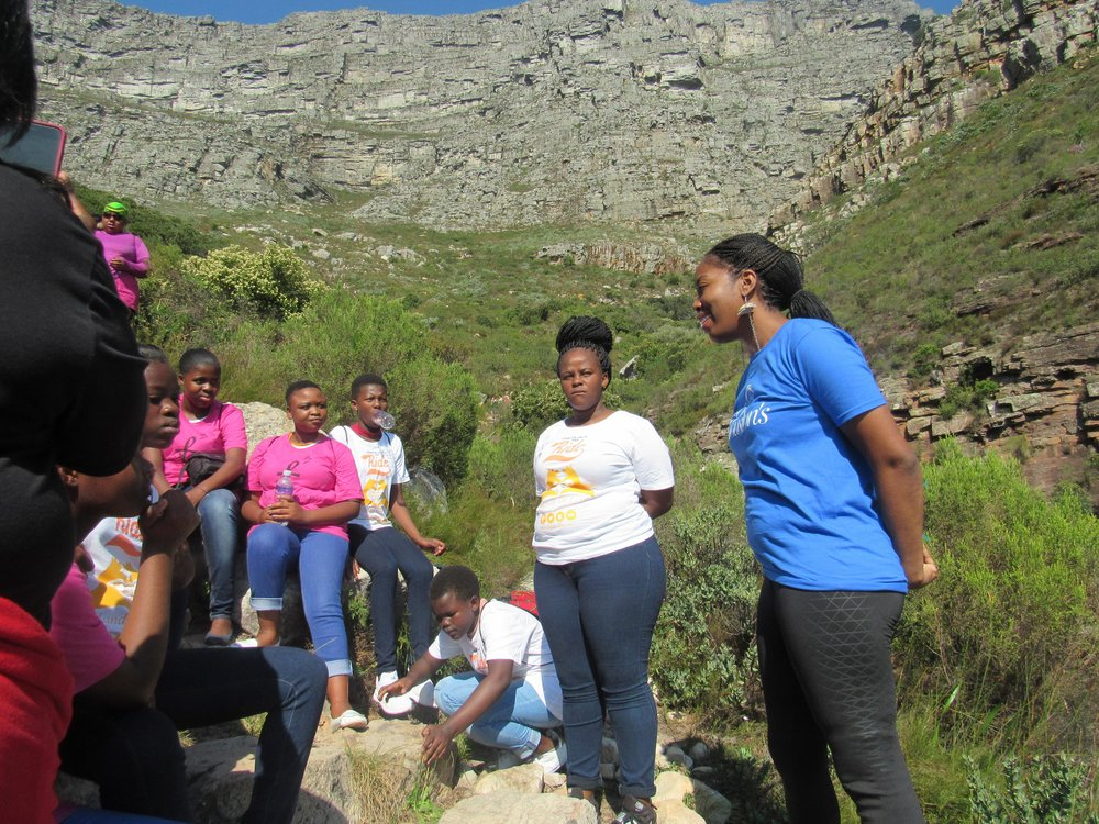 Ministering to girls in Cape Town, South Africa