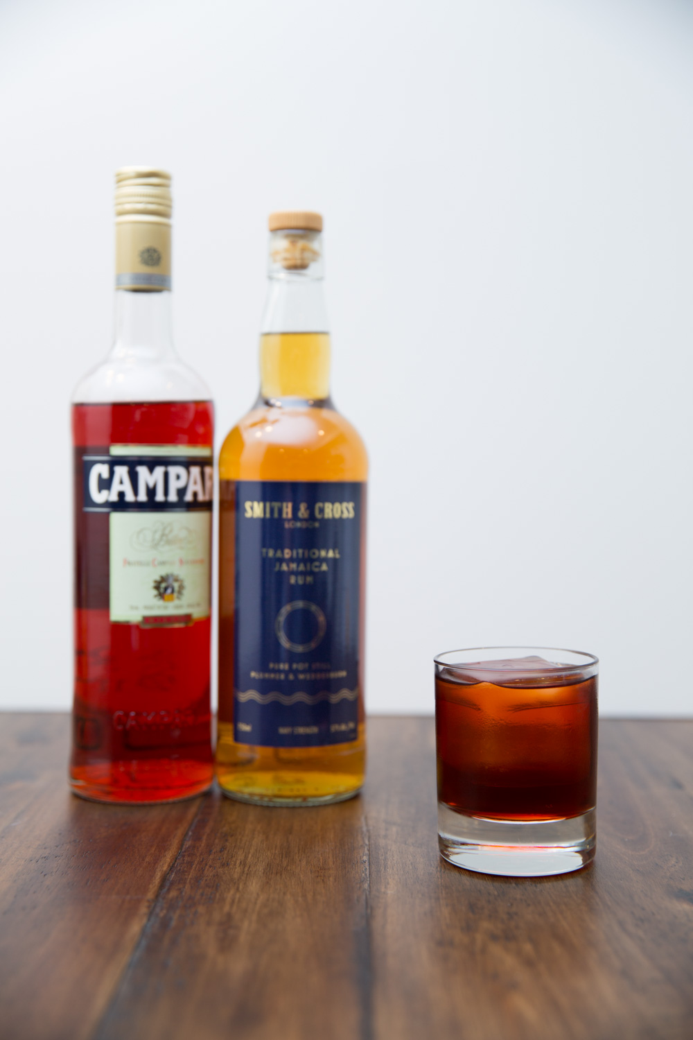 Kingston Negroni with Smith & Cross Rum and Campari