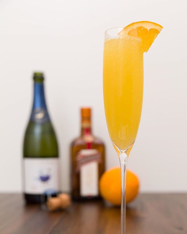 It's the weekend and that means it's time for brunch! Who doesn't love a nice Mimosa with their french toast or pancakes?⠀ ⠀ I like to use fresh squeezed OJ in mine and add a little extra orange flavor by using a bit of Cointreau. ⠀ ⠀ Use a cheaper sparkling wine and save the expensive stuff for drinking on its own. A Spanish Cava, French Crémant, or a cheaper American sparkling wine are always a good bet!⠀ ⠀ Get the recipe from the link in our bio.⠀ ⠀ ⠀ #cocktail #cocktails #booze #drink #drinks #drank #drunk #alcohol #mixology #cocktailbar #bartender #bar #bars #bartenders #food #tasty #liquor #thirsty #pub #cheers #happyhour #cocktailparty #brunch #mimosa #champagne #sparklingwine #brunching #brunchcocktails #champagnepop #daydrinking