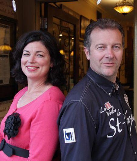 Mrs. & Mr. Rongier, Image courtesy of Paris 66