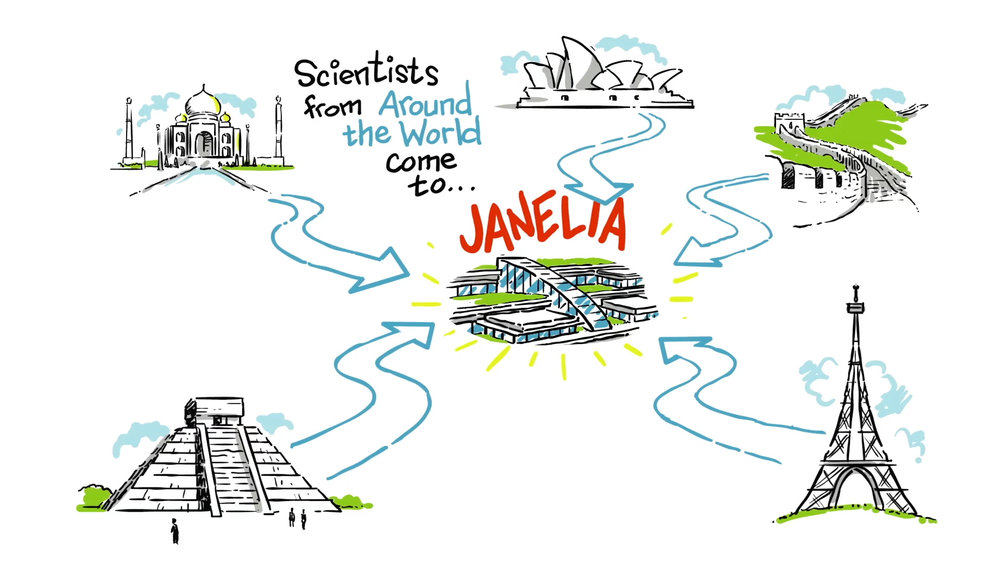 Discover   Janelia  Role:  Co=Producer / Co-Writer  Client:  Janelia /Howard Hughes Medical Institute  Production Company:  Noisy Neighbor TV