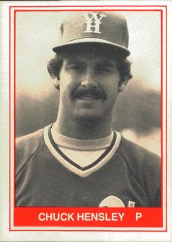 Chuck Hensley - West Haven A's (1982)