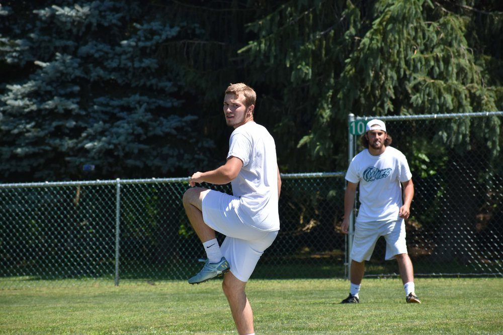Members of the NWLA Tournament champion WILL Waves will compete in MAW's next tournament in Canonsburg, PA on the 18th. Pictured here are Waves players Jake Davey (foreground) and Mike Graziani.