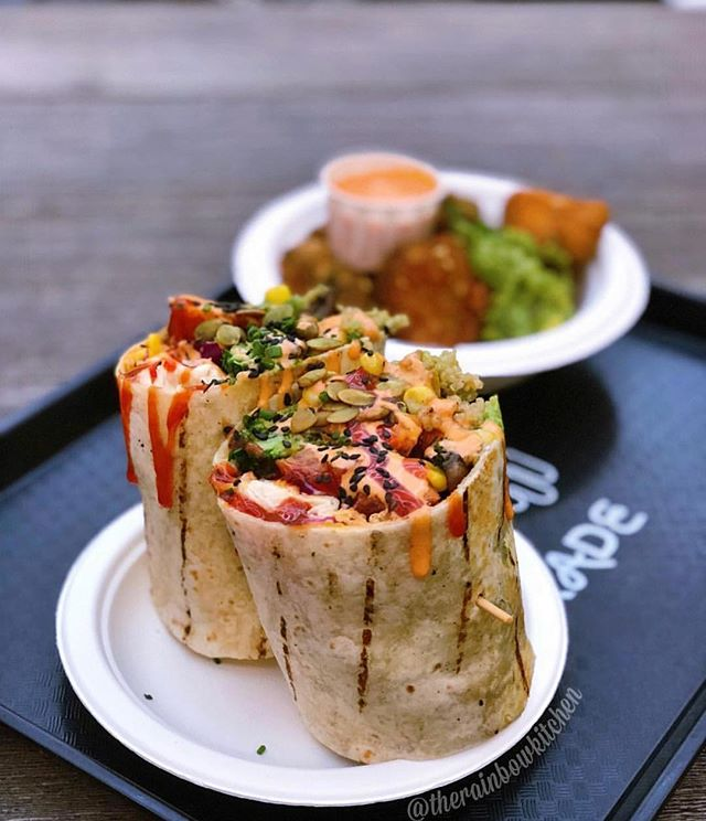 Burritos don't have to be meaty. Great shot 💥 @therainbowkitchen Thank You!