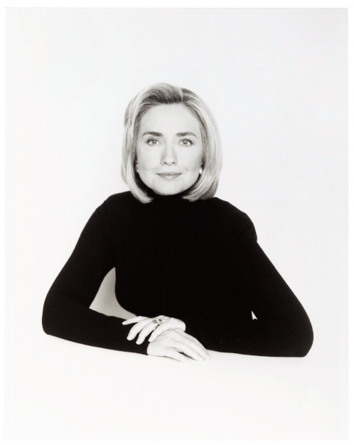 David Seidner [Hillary Clinton], 1996 © International Center of Photography, David Seidner Archive
