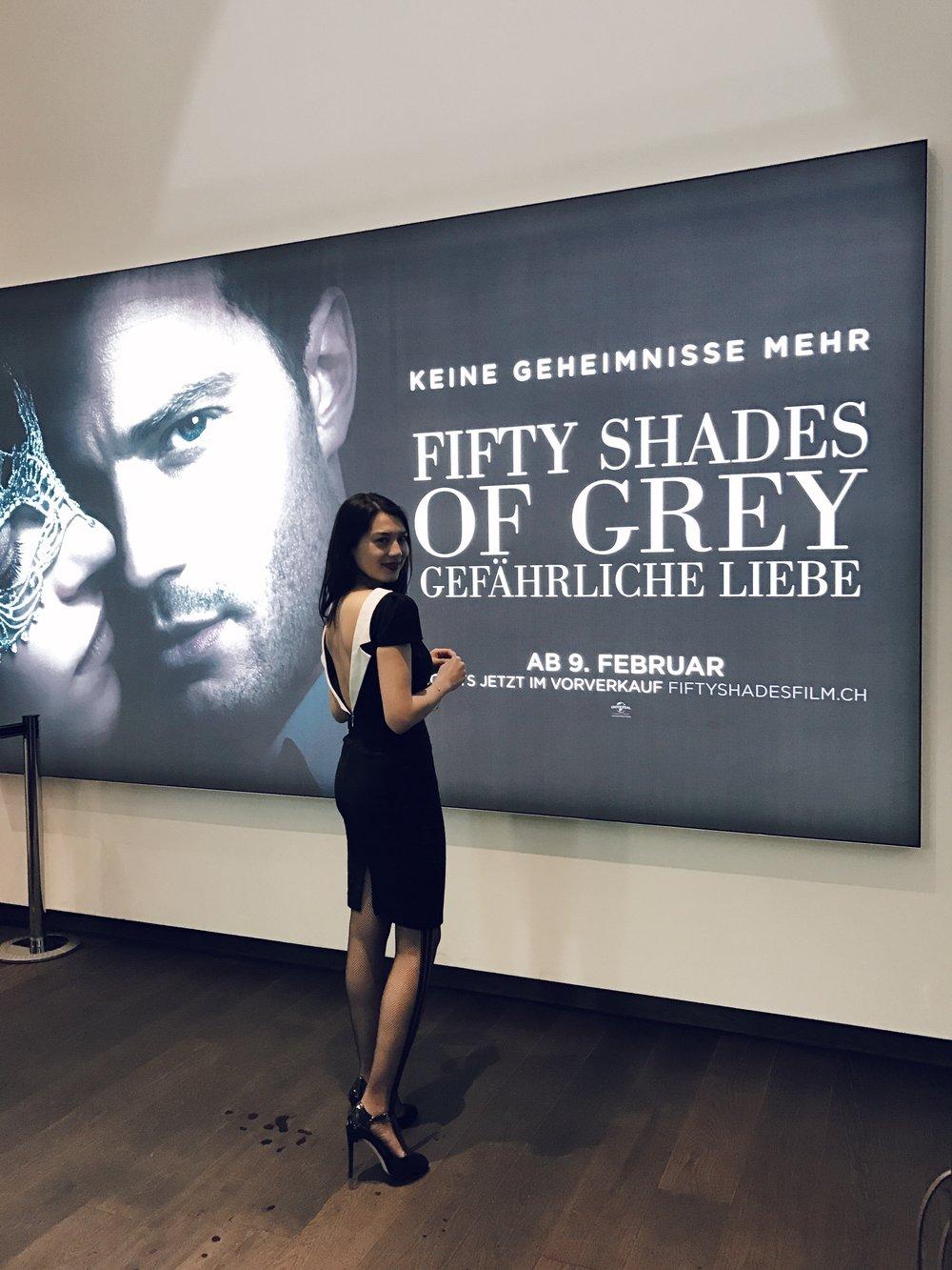 An der Premiere von «50 Shades Darker» im Kino Abaton Zürich.