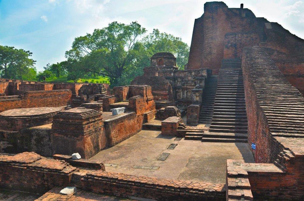Nalanda University ruins.JPG