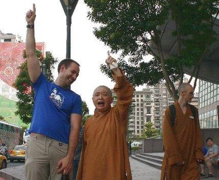 Taiwan with Ven. Yifa 2010