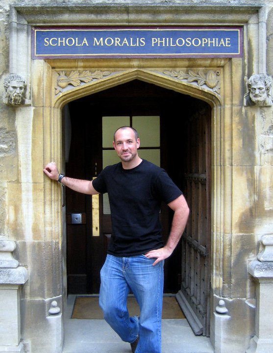 Oxford, intensive Pali studies, 2011