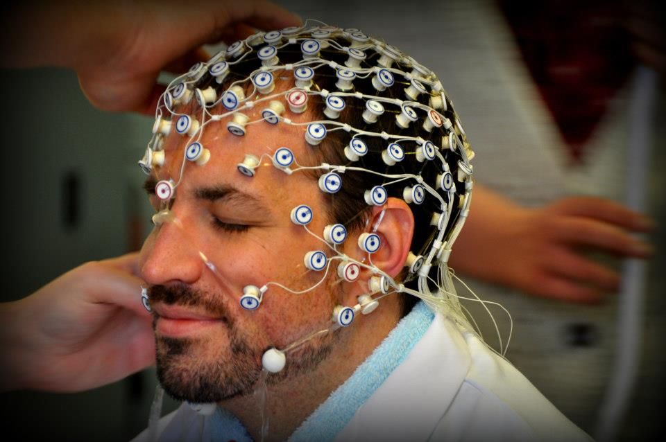 EEG testing of experienced meditators, England 2013