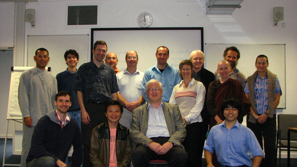 Intensive Pali class with Richard Gombrich, Oxford, 2011