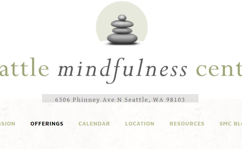 The Seattle Mindfulness Center offers a variety of classes and meditation periods. They also have a resource link to other area meditation groups. See more:  http://seattlemindfulnesscenter.com/community-meditation-group/
