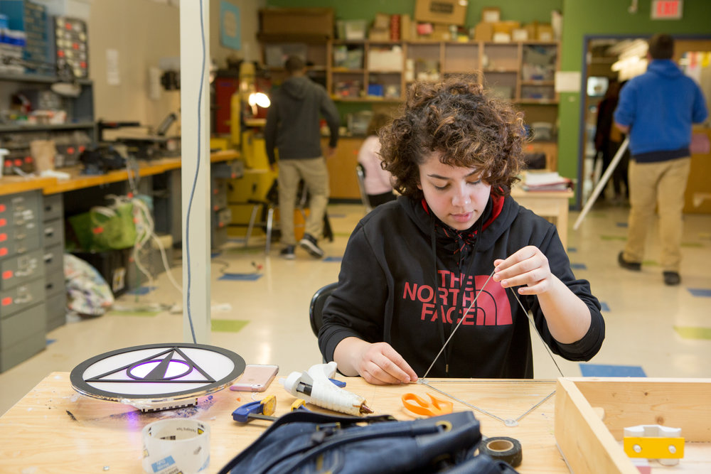 PBL allows for more personalized, rigorous learning for all, within a classroom of students with diverse strengths, interests, and passions.