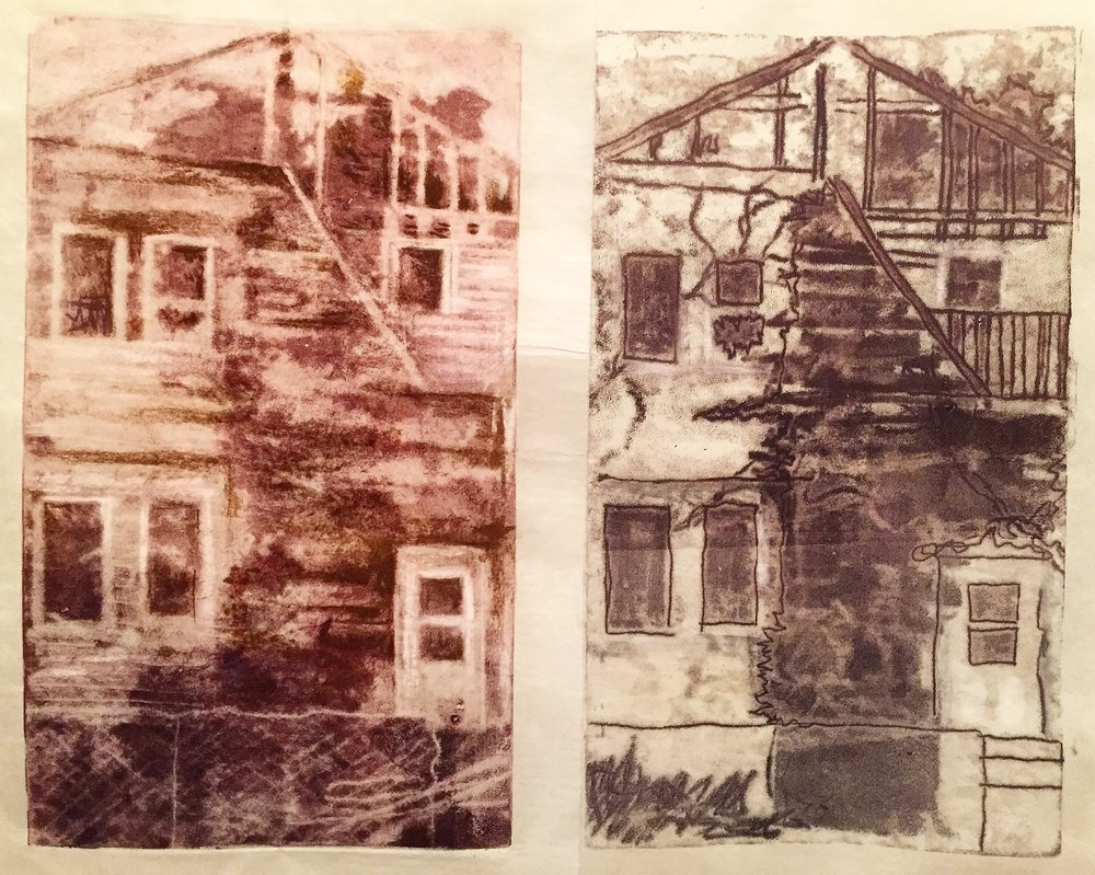 Make America Decay Again//Post Fire Diptych