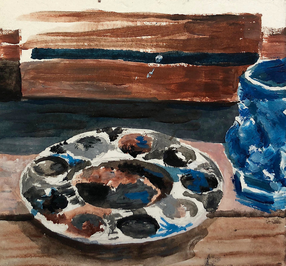 Blue Mug Study