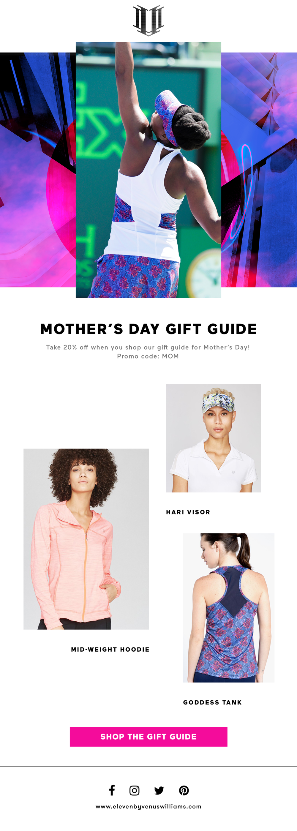Mother's Day Gift Guide Email Blast