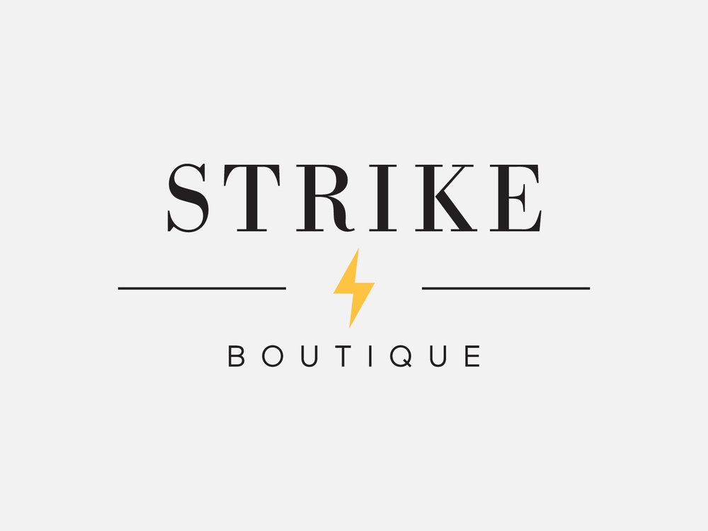 Strike Boutique – Logo, 2018