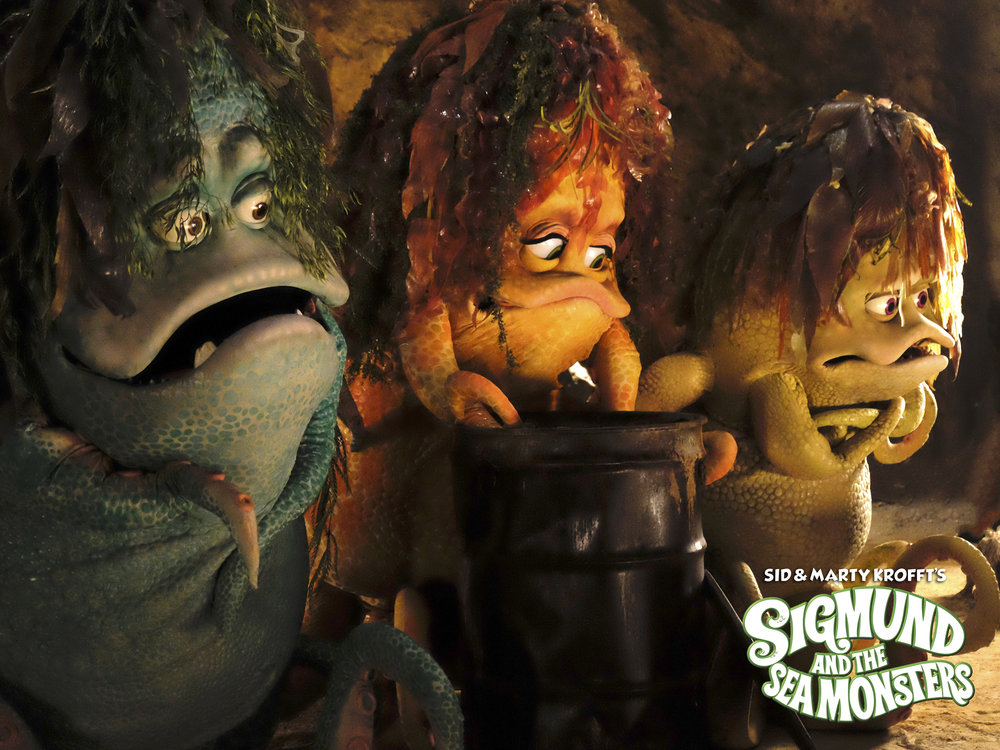 """Sigmund and the Sea Monsters"" 