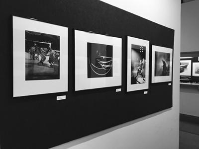 Gallery wall at Still River Editions