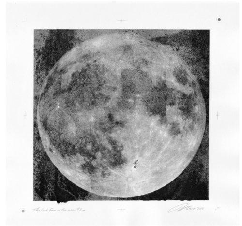 """""""Last Gene on the Moon"""" (#2) © Mark Savoia"""