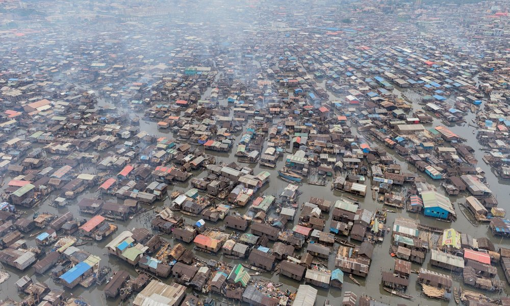 Nigeria's Makoko Slum is estimated to be home to nearly 250,000 residents. (Photo/Iwan Baan)