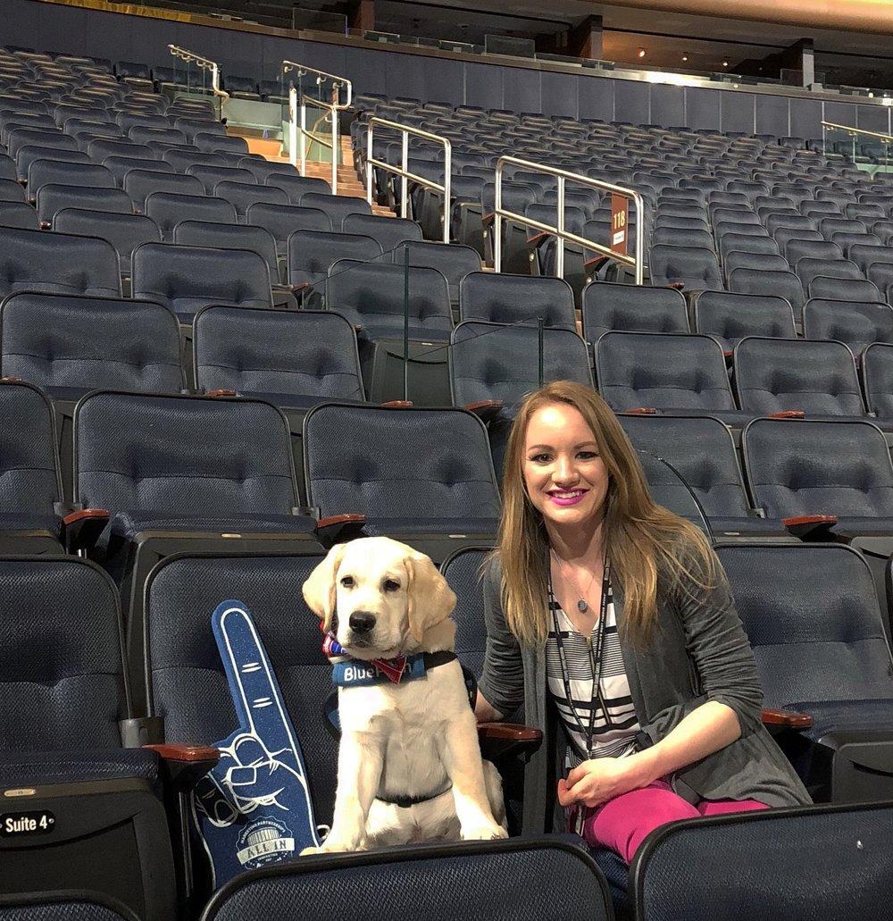 Saxon and Ranger at Madison Square Garden.