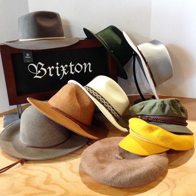 @brixton @brixtonwomens Field hat, Tiller hat, Fiona II fedora, Irene fedora, Audrey beret, Ashland cap, Fiddler cap, Westley fedora, and Graham fedora. #urbanesteamboat #steamboatsprings #brixton #brixtonhat