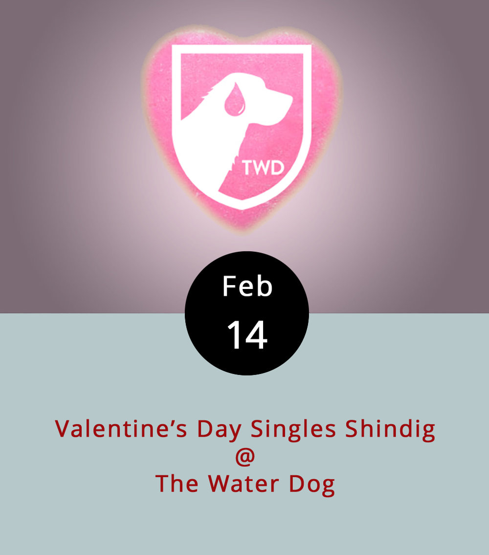 So, yeah, it's Valentine's Day, which tends to be a couples night out sorta thing. But not every everyone has a special someone. The Water Dog is honoring those folks with a Singles' Shindig, replete with classic '80s music, ping pong, and, yes, a chocolate beer. More specifically, it's Foothills Brewing Company's Sexual Chocolate, a bourbon barrel-aged imperial stout with a 9.6% ABV rating. They'll also be running a special on craft brew cans, which are usually only available in the Water Dog's grocery section. Co-owner Chris says couples are totally welcome, too. The Water Dog is located at 1016 Jefferson St.; call (434) 333-4681 for more info, or click  here .