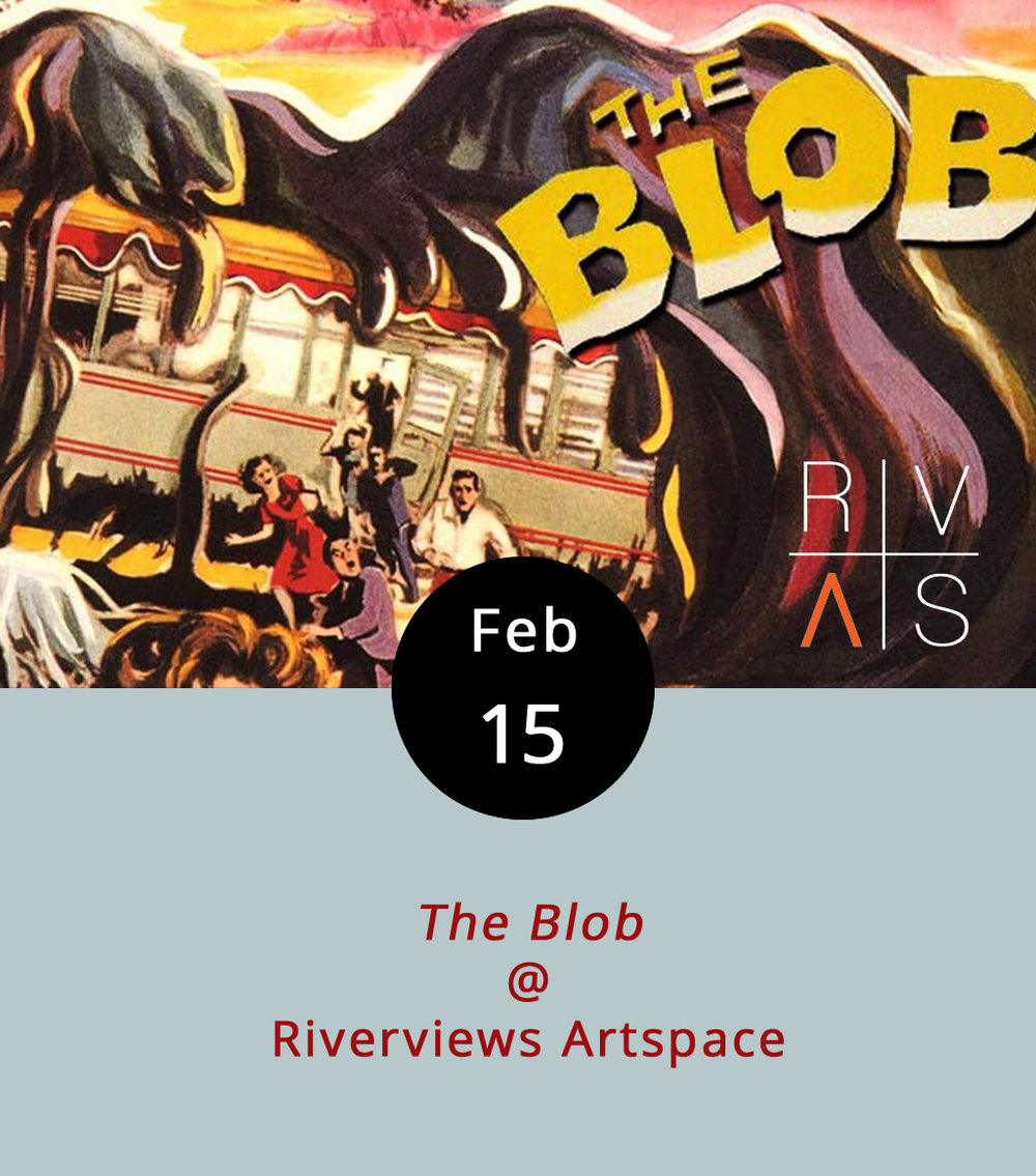 Steve McQueen was just 28 and at the start of what would be a very long acting career when he got his first starring role as a teenager named Steve who has an unfortunate run-in with the titular menace in  The Blob . It's the very definition of a cult classic, and it's screening tonight at 7:30 p.m. as part of the  The Fantastic Faraoni Film Festival  at Riverviews Artspace (901 Jefferson St.). Sci-fi cinema expert Ken Faraoni hosts the event, introduces the screening, and facilitates some conversating about the film. It's free; call (434) 847-7277 for more info.