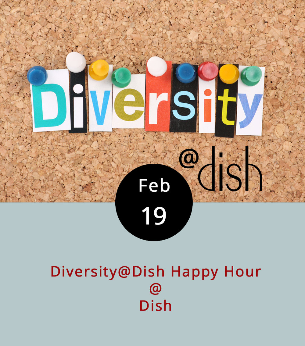 Once a month, the diverse members of the greater Lynchburg community gather at  Dish  (1120 Main St.) for a little food, a little drink, some conversation, and a lot of diversifying.  Diversity@Dish  includes members of Lynchburg Alliance Community Choir, Lynchburg Diversity Center, Lynchburg Transgender Alliance, and Lynchburg PFlag. There's usually music, too. It runs from 5:30-8 p.m.; call the Lynchburg Diversity Center at (434) 515-1143 for more info.