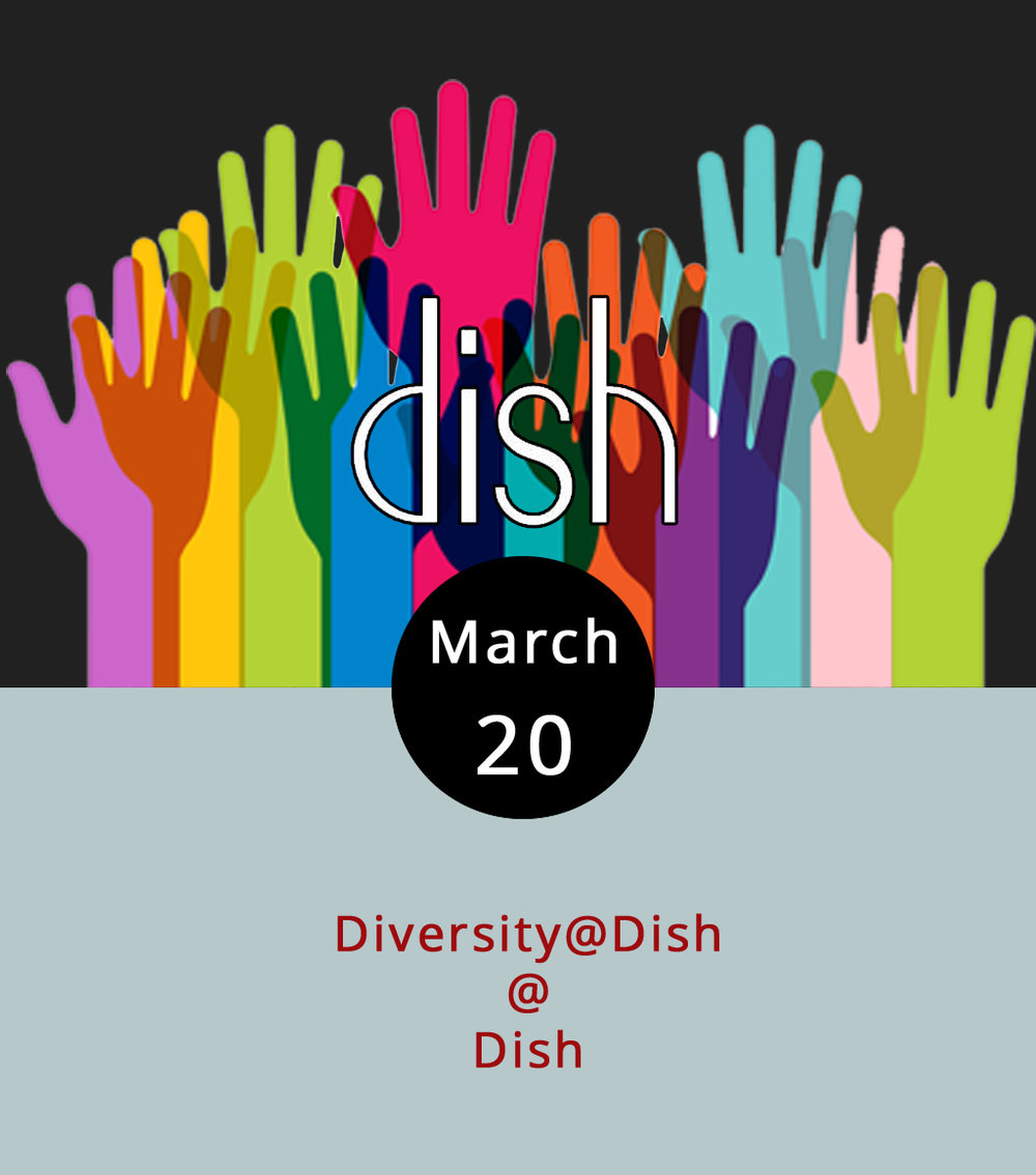 Diversity means different things to different people, which is sort of the point. The  Lynchburg Diversity Center  has its own approach to diversity, which happily includes a monthly happy hour downtown at  Dish  (1120 Main St.). It runs from 5:30-8 p.m., so you can grab drinks at the bar, and order from chef Dave Ellis' fine menu of plates big and small. Some recent small-plate specials: duck confit with creamy grits and stout reduction; steamed little neck clams with chorizo and cilantro; and gnocchi verde with marinara, and fresh mozzarella. Call (434) 528-0070.