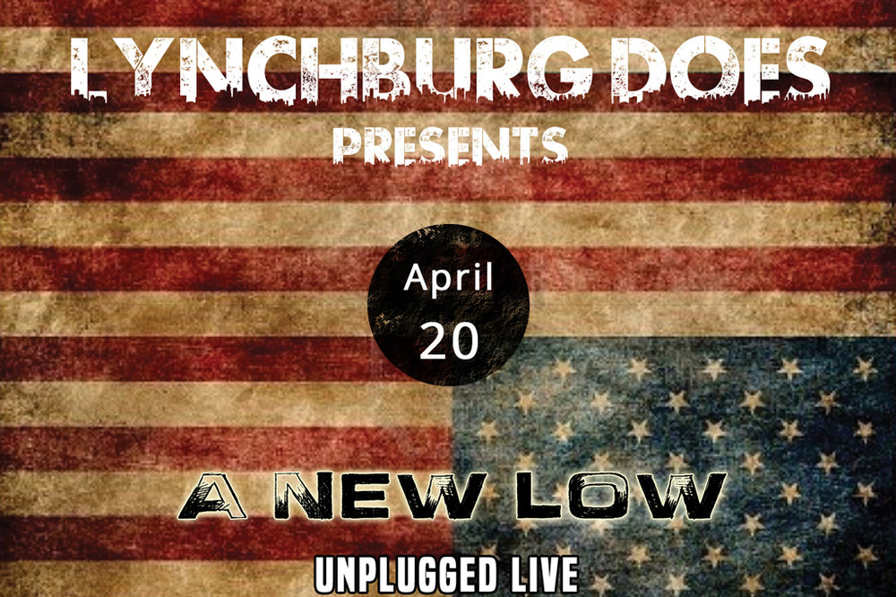 On 4/20, one of the happier days of the year, we're doubly happy to announce that we'll be holding the first of what we hope will be many LynchburgDoes Presents events. In this case, it will be a night of music, featuring an acoustic set or three by the True South rock band A New Low. It all happens downtown at Dish (1120 Main St.), where the drinks are good, the small plates are great, and staff are super nice. The music starts after 8 p.m., but don't let that stop you from dropping in earlier for some food and conversation. There will be free LynchburgDoes stickers, as well as a limited number of handcrafted CDs featuring three new studio tracks by A New Low. Full disclosure: two members of A New Low – guitarists Matt Ashare and  Jason Oliveira  – are part of the LynchburgDoes crew. Singer Vic Sizemore is a friend of the site, and an all-around good guy. So, please come out on and enjoy a low-key Thursday evening, and say hello. We're hoping to have a few special guests, but it'll be special one way or another. Click  here  to see Dish's menu, and call Dish at (434) 528-0070 to make a dinner reservation.