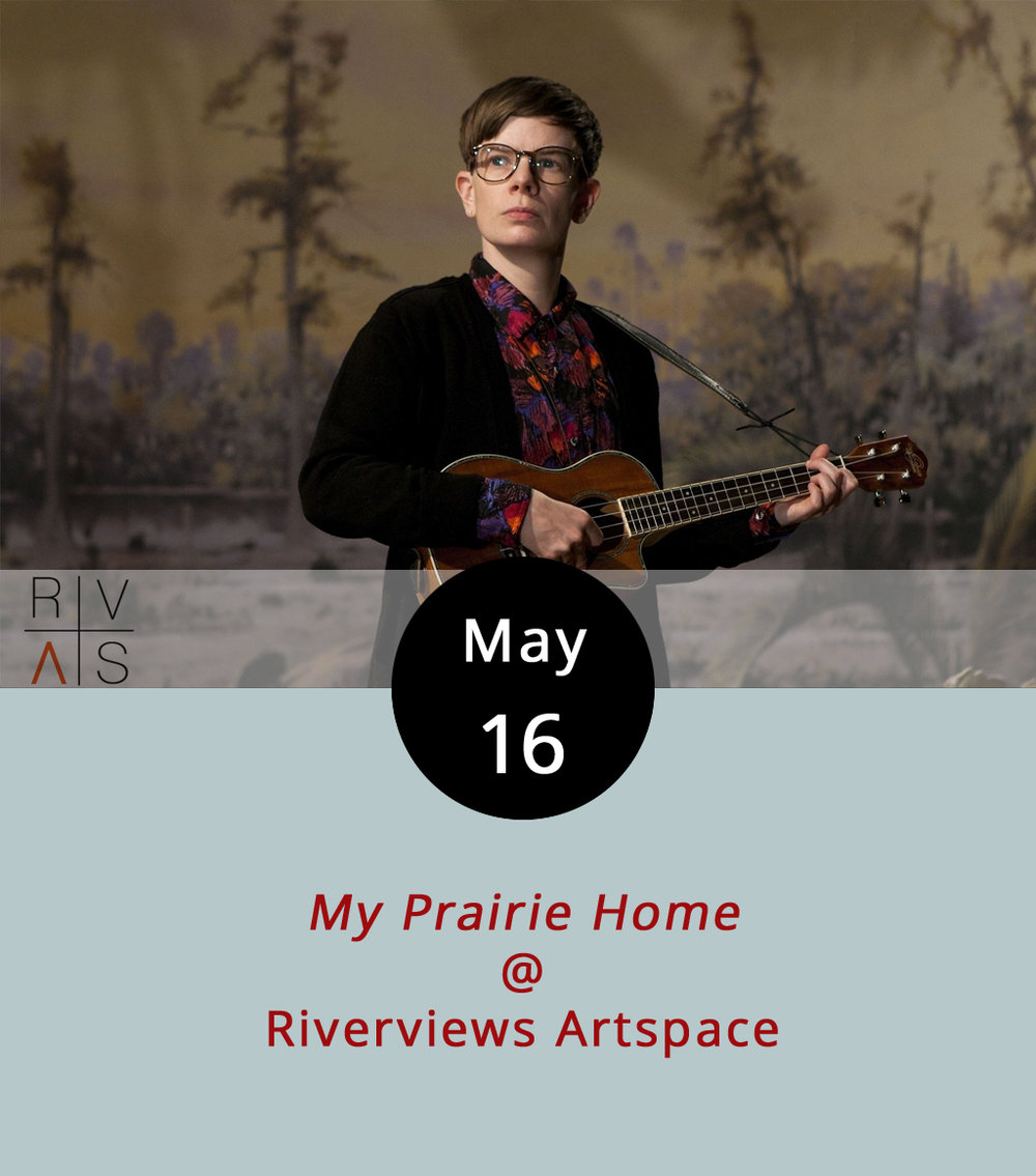 "Riverviews Artspace's Digital Humanities Project turns its gaze to non-binary musician Rae Spoon, who is the subject of the documentary  My Prairie Home . Variety describes the film as ""highly affecting"" and possessing great ""lyrical appeal,"" but it's the non-binary part that sets Spoon apart. Spoon's from Calgary (yep, the one in Canada), and has been playing an eclectic blend of indie-folk and country since the early 2000s. Spoon has a book of LGBT-themed short stories  First Spring Grass Fire  to go along with the film, which has been making the rounds of art-house cinemas since 2013. Randolph College Communication Studies Department professor Jennifer Gauthier will provide a brief intro to the screening, which gets underway at 7 p.m. at Riverviews Artspace (901 Jefferson St.). Call (434) 847-7277 for more info, or click  here ."