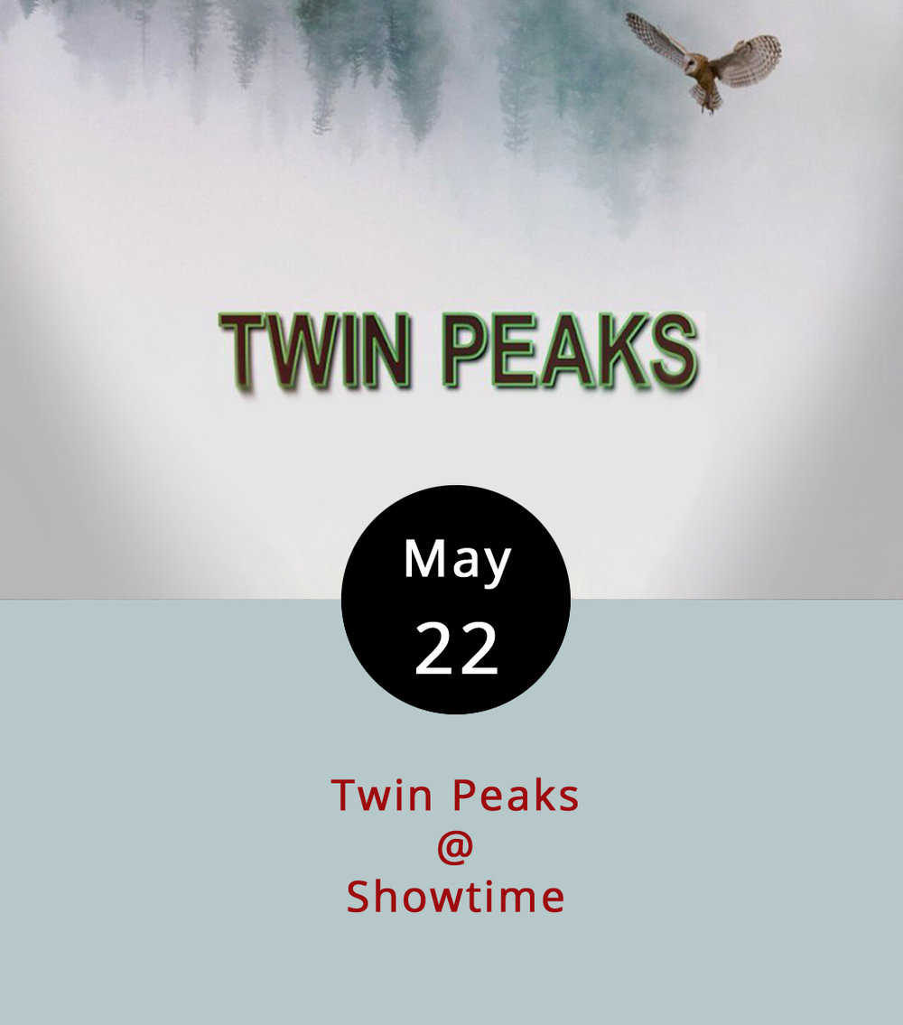Fans of the original  Twin Peaks  TV series, which ran for two seasons in the early '90s and left a lot of viewers delightfully confused, have been waiting for this moment since cultural phenom peaked with a full-length feature film in 1992. Yes,  Twin Peaks  is back, with original showrunners David Lynch and Mark Frost at the helm, and most of the original cast on board. This time, there will be some rather exciting newcomers to the show, such as Laura Dern, Trent Reznor, Amanda Seyfried, and Tim Roth. For those of you who are not familiar with the original storyline, it centers around a deceptively simple question: Who killed Laura Palmer? Back in the day,  Twin Peaks  came into our homes via network television, specifically the American Broadcasting Company. In 2017, it's a premium cable show that airs on Showtime. The nice thing is that you can get a free two-week trial of Showtime this month, which will allow you to stream the first two seasons and watch the two-hour season pilot and two additional episodes, all of are scheduled to go live at 9 p.m. on May 21. Click  here  for Showtime's confusing schedule and more info.