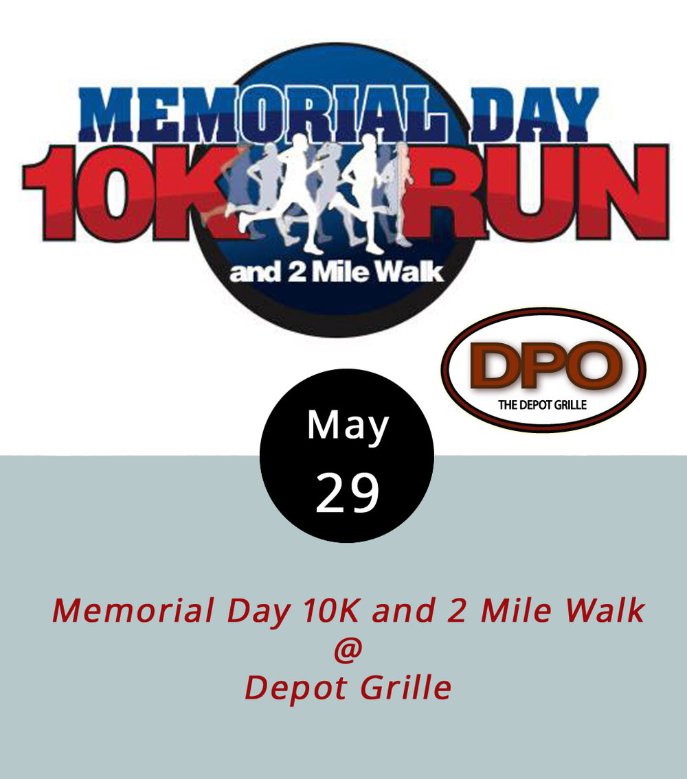Why not get out, smell the fresh air, and do something good for your fellow humans this Memorial Day? The Lynchburg Road Runners Club and the Type 1 Diabetes Experience (a/k/a T1DE) are hosting both a 10K run and a 2-mile walk to raise money for diabetes research. The races start near the Depot Grille (27 9th St.) at 8 a.m. with prizes for the winners. To register, click  here . To view the course, click  here . Tickets are $30 for the run, and $20 for the walk. If you're one of the first to pick up your pre-race packet (on May 26th from noon-6 p.m. and May 27 from noon-5 p.m. at Riverside Runners; or on race day from 7-7:30am at the Depot Grille), you might nab a snazzy t-shirt.